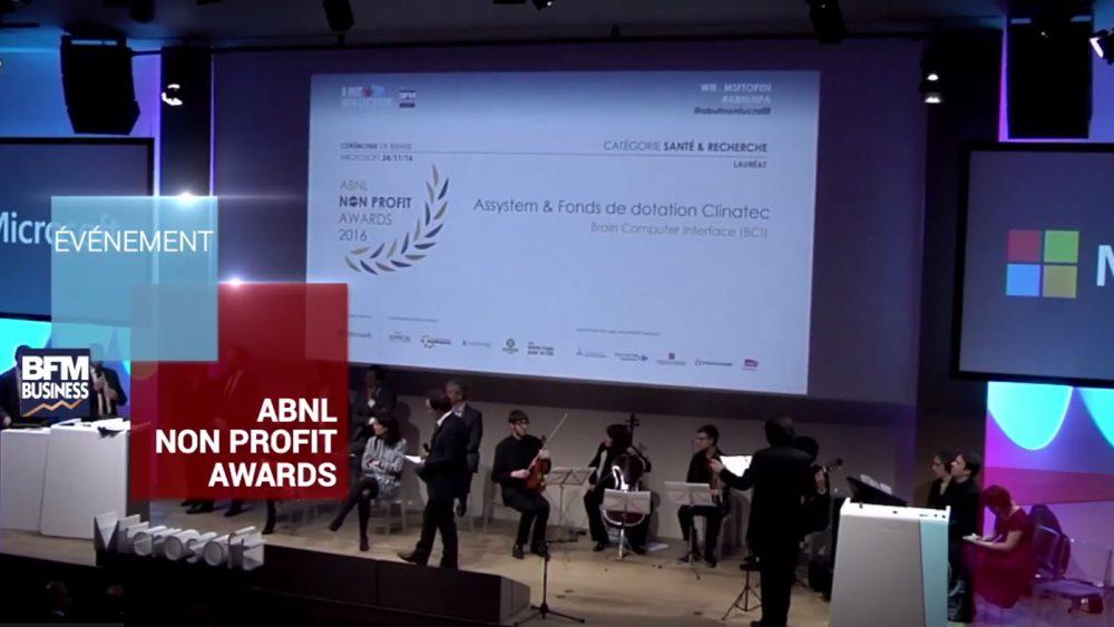 Cérémonie Officielle des Non Profit Awards