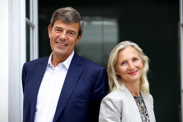 Clara Gaymard et Gonzague de Blignières, co-fondateurs de RAISE