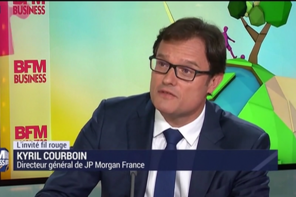 BFM Business   10/06   A but non lucratif reçoit Kyril Courboin, JP Morgan